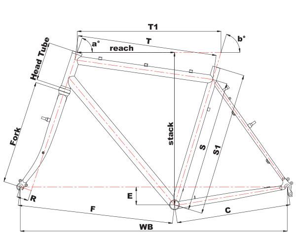 Cinelli hobootleg geometrija