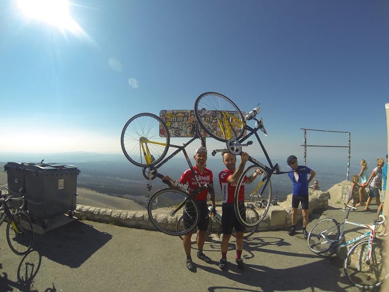 Riccardo Volpe e il Mont Ventoux